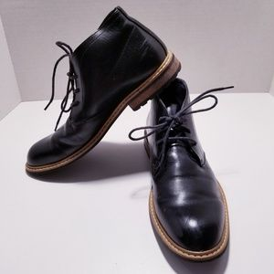 Bruno Marc Faux Leather Ankle Boot sz-9.5